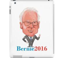Bernie 2016 Democrat President Caricature iPad Case/Skin