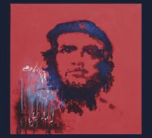 Abstract Che Guevara Painting One Piece - Short Sleeve