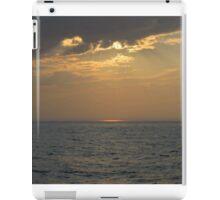 Sunset On The Michigan Great Lakes iPad Case/Skin