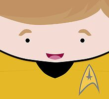 Captain James T Kirk by Jenny Mhairi