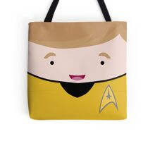 Captain James T Kirk Tote Bag