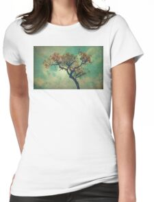 Vintage Rusty Tree Womens Fitted T-Shirt