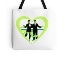 Justin and Jimmy Tote Bag