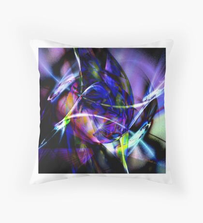 Colours of experience Throw Pillow