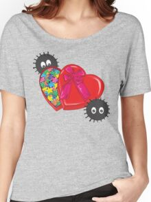 Valentines Candy for Soot Sprites Women's Relaxed Fit T-Shirt