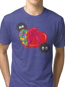 Valentines Candy for Soot Sprites Tri-blend T-Shirt