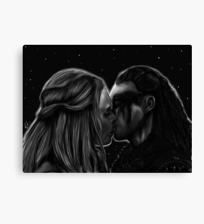 Clexa Eternal Canvas Print