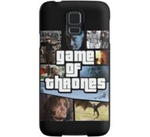 grand game of thrones  Samsung Galaxy Case/Skin