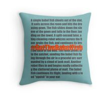 Babel Fish Throw Pillow