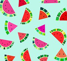Watermelons Print by House of  Jennifer