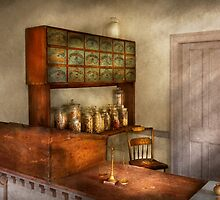 Pharmacy - The herbalist by Mike  Savad