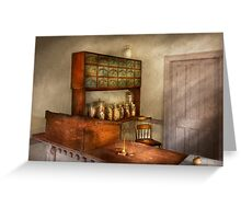Pharmacy - The herbalist Greeting Card