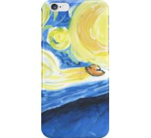 Starry Night Sky Watching iPhone Case/Skin