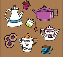 Teapot by HD Connelly