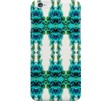 Aqua ink in water print iPhone Case/Skin