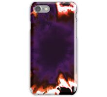 Explosion in the Dark Woods iPhone Case/Skin