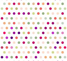 Polka Dots - Red & Green by House of  Jennifer