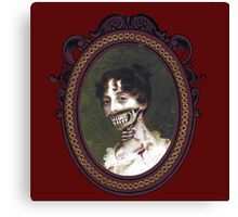 Pride and Prejudice and Zombie The Novels Canvas Print