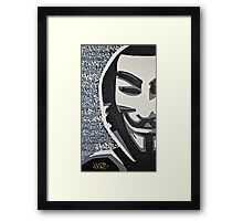 Anonymous Framed Print