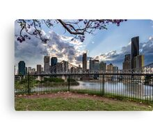 Story Bridge from Wilson Outlook Reserve Canvas Print