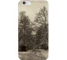 It Snowed that Day iPhone Case/Skin