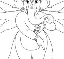 Lord Ganesh Sticker