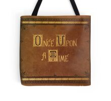 Once Upon A Time - Fitted Book Cover Tote Bag