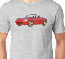 Oil painted Mazda Miata Unisex T-Shirt