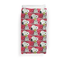Snoopy before valentine Duvet Cover