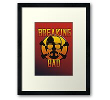Breaking Mortal Kombat Bad  Framed Print
