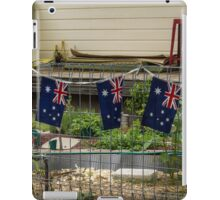 patriotic porch iPad Case/Skin