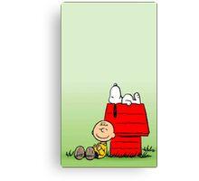 Snoopy dream Canvas Print