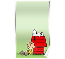 Snoopy dream Poster