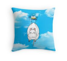 Spirited Away Mouse and Fly Throw Pillow