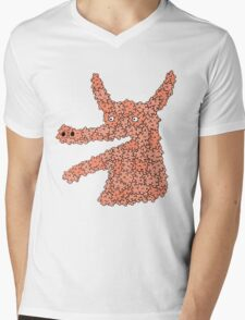 bubbleanimal Mens V-Neck T-Shirt