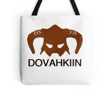 Skyrim: Dovahkiin - Design for Gamers Tote Bag