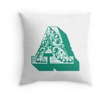 Alphabet Pillow - A Throw Pillow