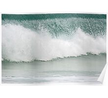 Rolling Wave at Ethel Beach Poster