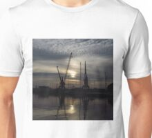 Cranes 1:1 Version, Ipwich Waterside Unisex T-Shirt