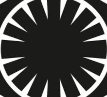 Star Wars: First Order Sticker Sticker