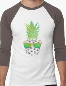 Cool Fruits - Pineapple Men's Baseball ¾ T-Shirt