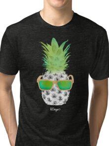 Cool Fruits - Pineapple Tri-blend T-Shirt