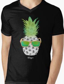 Cool Fruits - Pineapple Mens V-Neck T-Shirt