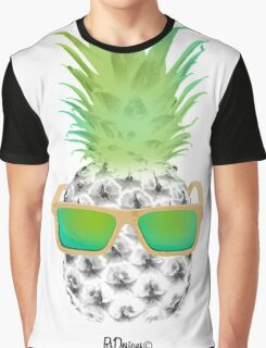 Cool Fruits - Pineapple Graphic T-Shirt