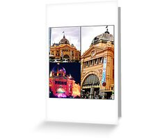 Grand old facade  Greeting Card