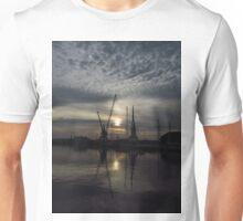 Cranes 4:3 Version, Ipwich Waterside Unisex T-Shirt