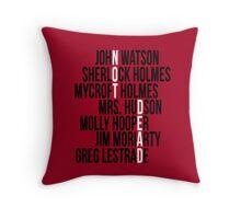 Not Dead Throw Pillow