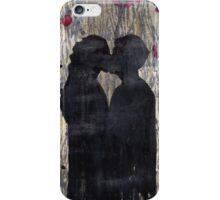 just a kiss iPhone Case/Skin
