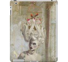 """Pardon Madame, mais savez vous qu'il y a une cage d'oiseaux sur votre tete?"""" iPad Case/Skin"""