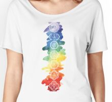 The 7 Chakras Women's Relaxed Fit T-Shirt